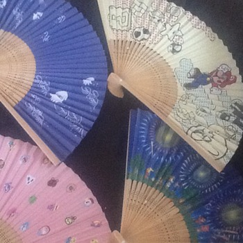 Club Nintendo paper fans  - Games
