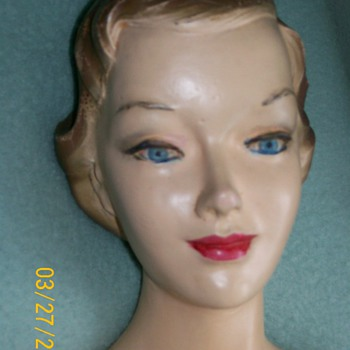 1940s 30 inch mannequin store display modeling girdle
