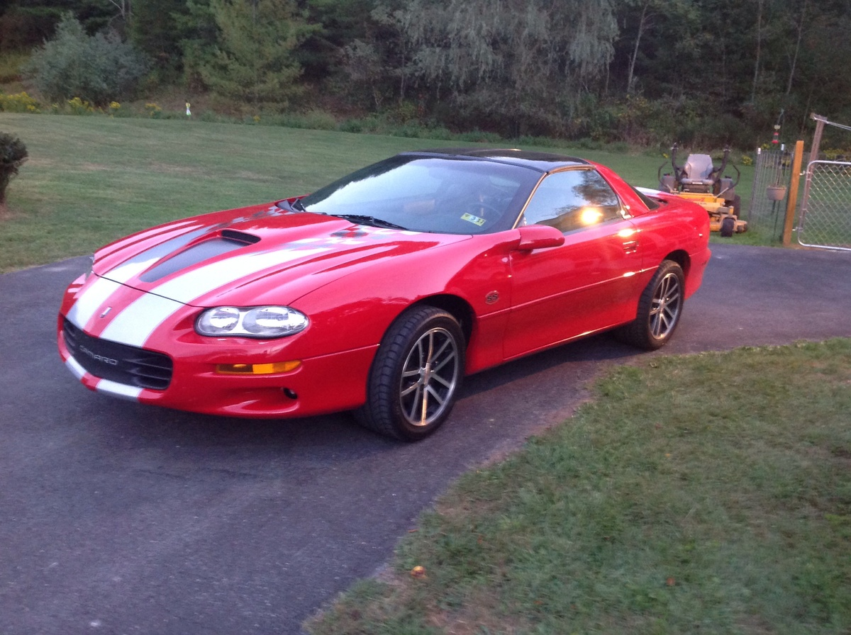 02 slp camaro ss 35th anniversary edition collectors weekly. Cars Review. Best American Auto & Cars Review