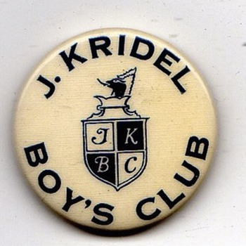 J. K. Ridel Boys Club - Medals Pins and Badges