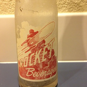 Rocket Beverages Bottle