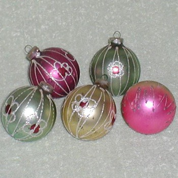Old Christmas Ornaments - Christmas