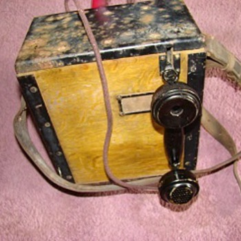 WWI Field Telephone - Signal Corps US Army