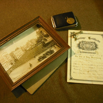 Memorabilia for the 27th Winnipeg Battalion, CEF