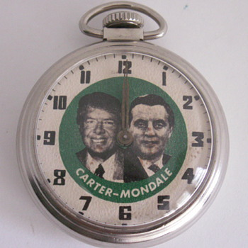 Westclox, Carter / Mondale - Pocket Watches
