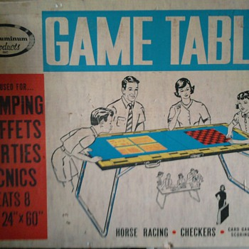 AUCTION BOUND - GAMING TABLE - Games