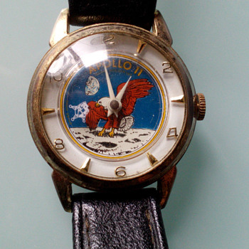 The Eagle Has Landed...Apollo 11 Wrist Watch - Wristwatches