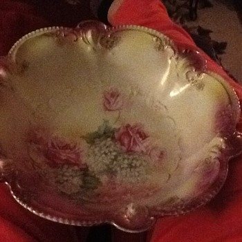 Pink roses SR Prussia bowl