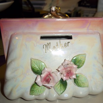 Mother Purse Bank - Art Pottery