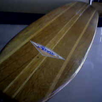 SKATEBOARD Danny Bearer 1965 FIRST World Champion Board.