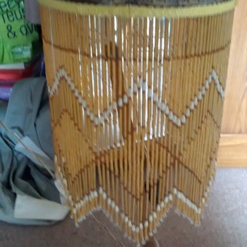 A Lampshade with metal frame what would be the style or influence, its modern but has a certain style? - Lamps