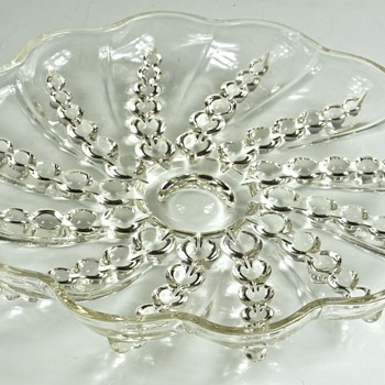 Identity of Lovely Glass Dish - Glassware