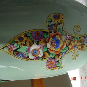 Found this gorgeous Noritake Deco Vase - China and Dinnerware