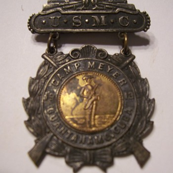 WWI BAND PIN CAMP MEYER GITMO