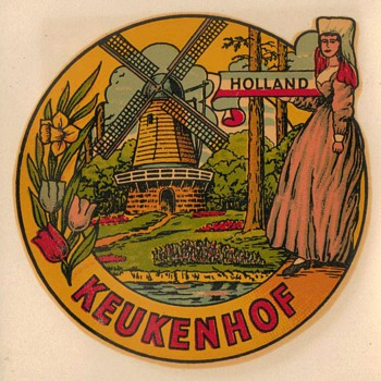 Travel Decal - Keukenhof Holland