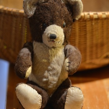 old teady bear  - Dolls