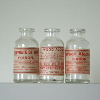 Poison Bottles - Bottles