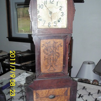 "I love clocks !"" clock in a box"""