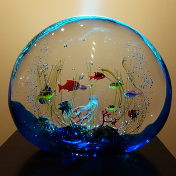 Elio Raffaeli For Ogetti Murano Aquarium