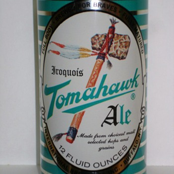 Tomahawk Ale can 1962