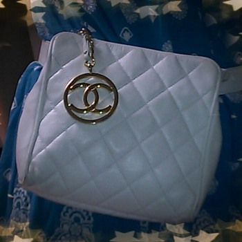 update Vintage rare Chanel Clutch waist purse bag
