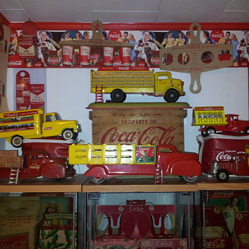 Coca-Cola Toy Trucks - Coca-Cola