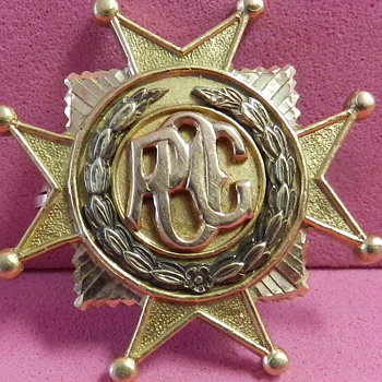 14k GOLD FRATERNAL ORGANIZATIONAL PIN/MEDAL