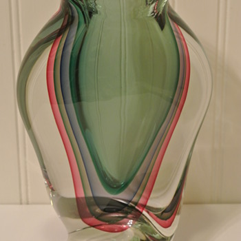 Murano Art Glass Vase By F. Ragazzi 2007  - Art Glass