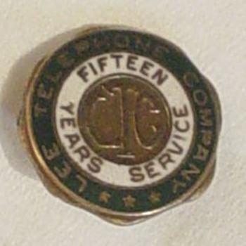 Lee Telephone Company Pin