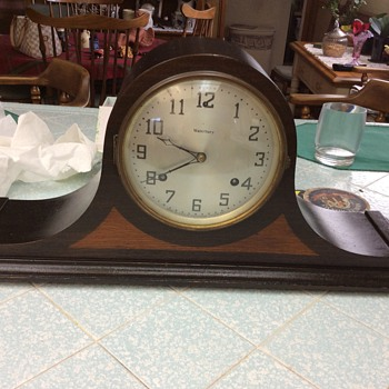 My heirloom Waterbury clock