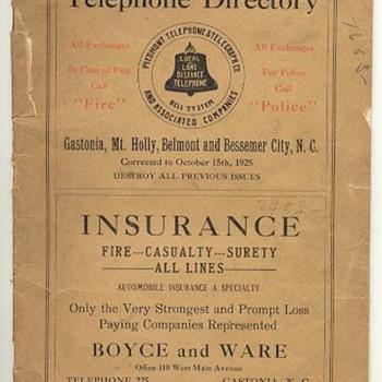 Piedmont Telephone & Telegraph
