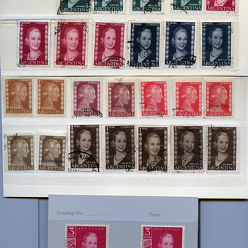 Eva Peron Stamps  - Stamps