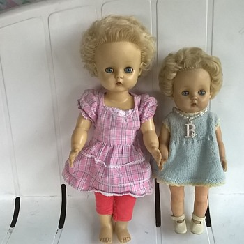 Manikin - 1940s? 1950s? Two Little Blondies