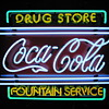 New (2009) Coca Cola Neon Sign &amp; Clock