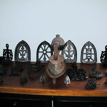 My Sad Iron & Trivet Collection