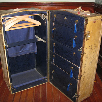 Mystery Steamer Trunk