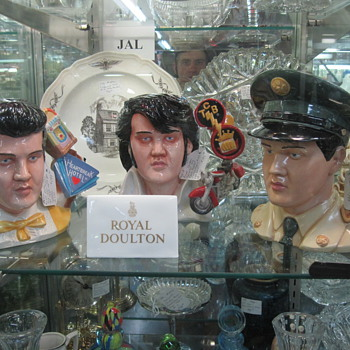 Elvis Busts Sighted at Mad Hatter Antiques - Music