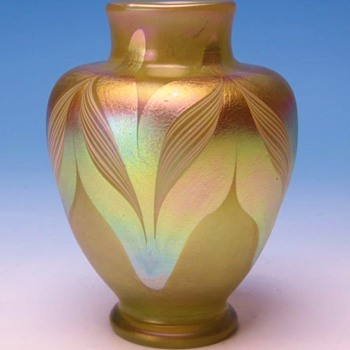 Early L.C.Tiffany Favrile Vase