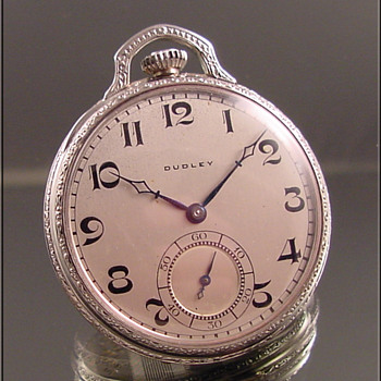 Dudley Masonic Pocket Watch Series #2  c.1925