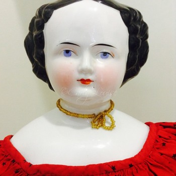 Flat Top China Head Doll