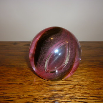 Scottish Caithness Glass paperweight - Art Glass