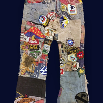 #12 ~ Original Progressive Hippie Denim Jeans took 40 years to Complete