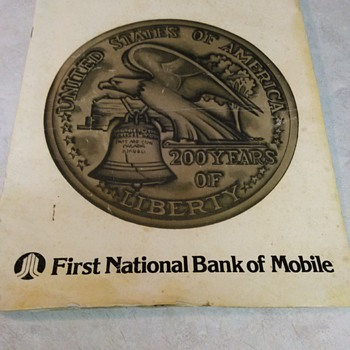 FIRST NATIONAL BANK OF MOBILE - Paper