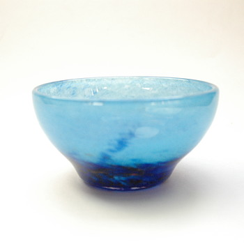 "daum miniature bowl ""verre de jade"" circa1914. - Art Glass"