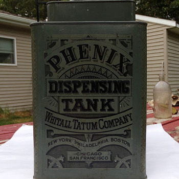 Early 1900s Dispenser, Whitall Tatum Co.