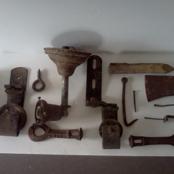 random barn hardware early 1900's - Tools and Hardware