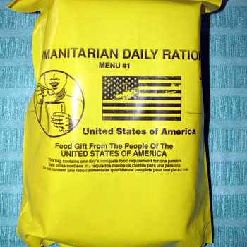 Humantiarian Daily Rations - Military and Wartime
