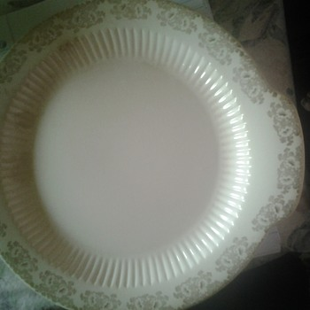 windsor china co national brotherhood of potters platter