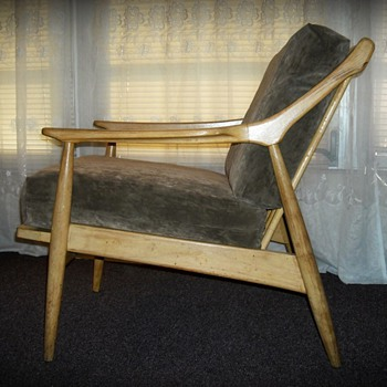 Danish Modern Lounge Chair Super cool!!! - Furniture