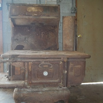 cast iron cook stove the wehrle co. - Kitchen